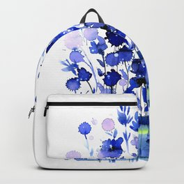 Floral Charm No.1by Kathy Morton Stanion Backpack