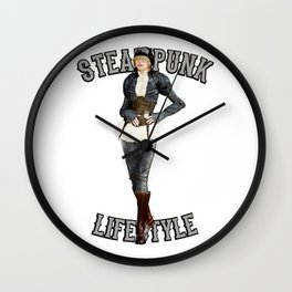Steam Punk Life Style Wall Clock