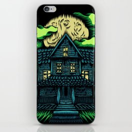 Haunted House iPhone Skin