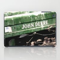 john green iPad Cases featuring John Deere by Captive Images Photography