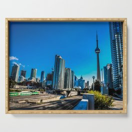 Downtown Toronto View Serving Tray