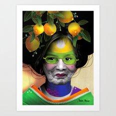 BAL MASQUÉ Art Print