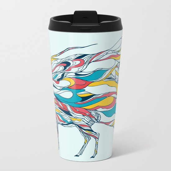 Hold Me Down Metal Travel Mug