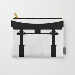 Tori Gate Silhouette Carry-All Pouch