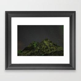 Norwegian mountains 3 Framed Art Print