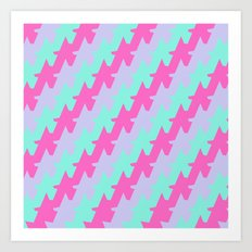 A For Awesome Art Print