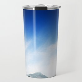 barrier lake in canmore Travel Mug