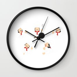 Professional Chef Wall Clock