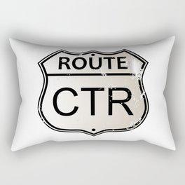 CTR Highway Sign Rectangular Pillow