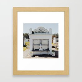 Lafayette Cemetery No. 1, New Orleans 2013 Framed Art Print
