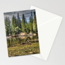 Reflecting Pond at Carson Spur, Amador County CA Stationery Cards