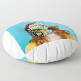 QR #8 Floor Pillow