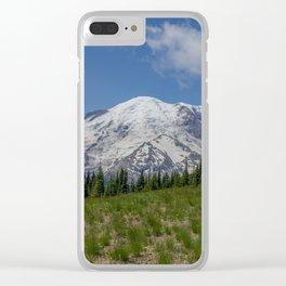 Mount Rainier Clear iPhone Case