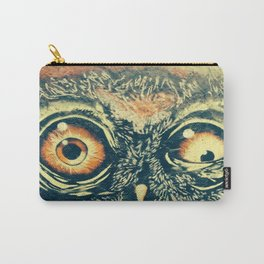 Buho owl animal graffiti drawing Carry-All Pouch