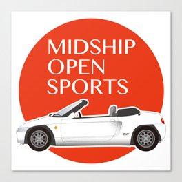 Midship Open Sports Canvas Print
