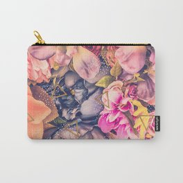 Collage flowers - geometrics Carry-All Pouch