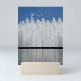 Bloch Fountain not a Block Mini Art Print