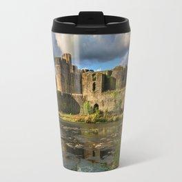 Caerphilly Castle Moat Travel Mug