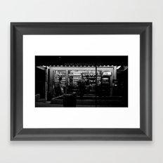 Night Bright Framed Art Print