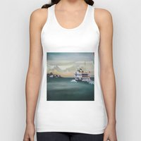 istanbul Tank Tops featuring Ferry İstanbul by ArtSchool