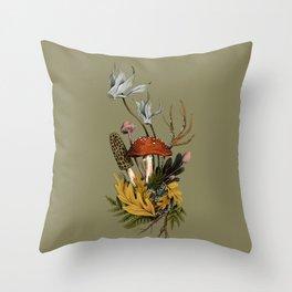 Autumnal Scene Throw Pillow