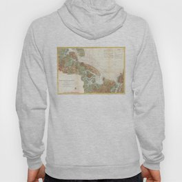 Vintage Map of Ipswich and Annisquam Harbor (1857) Hoody