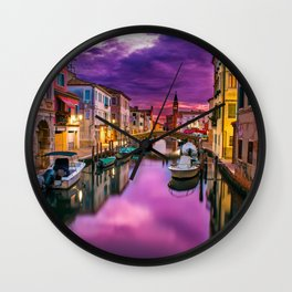 Venice, Italy - The Grand Canal Wall Clock