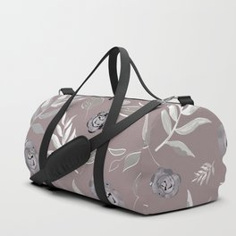 Simple and stylized flowers 14 Duffle Bag