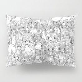 crazy cross stitch critters Pillow Sham