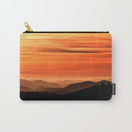 Dawn in the mountains Carry-All Pouch
