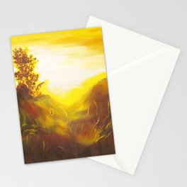 Dancing Sunset Stationery Cards