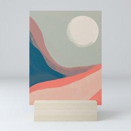 Journey Underneath The Moon Mini Art Print