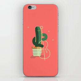 CACTUS BAND / The Contrabass iPhone Skin