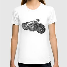 Vintage Indian Motorcycle T-shirt