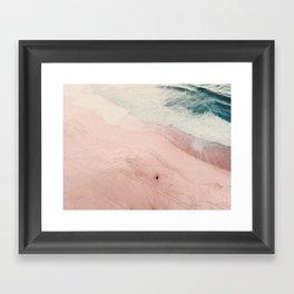 sea of love III Framed Art Print