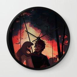 Of Beren and Lúthien Wall Clock