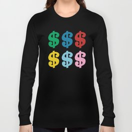 Colourful Money Long Sleeve T-shirt