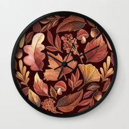 The Winds Of Autumn Have Returned Wall Clock