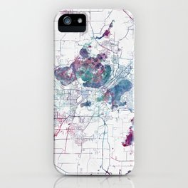 Madison map iPhone Case