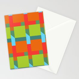 Let's Make Squares Stationery Cards