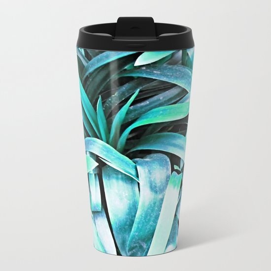 Leaves #society6 #buyart #decor Metal Travel Mug