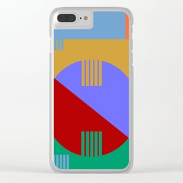 Abstract #57 Clear iPhone Case