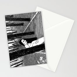 asc 603 - L'histoire sans fin (The Garden of Forking Paths) Stationery Cards