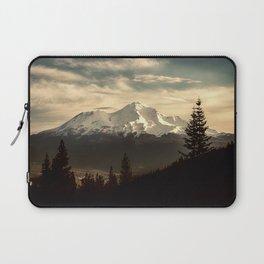 Mount Shasta Waking Up Laptop Sleeve