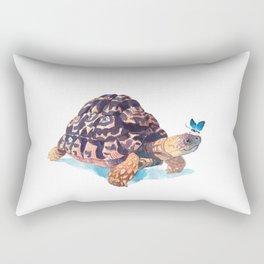 Tortoise and Butterfly Rectangular Pillow