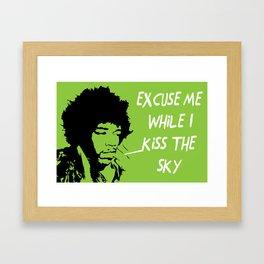 Woodstock Hendrix Framed Art Print