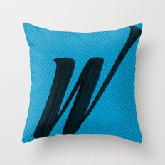 (W) Throw Pillow