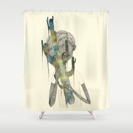 TREES NEVER LIED 02 Shower Curtain