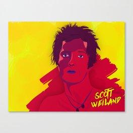 Scott Weiland Canvas Print