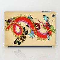 dragon ball iPad Cases featuring dragon  by mark ashkenazi
